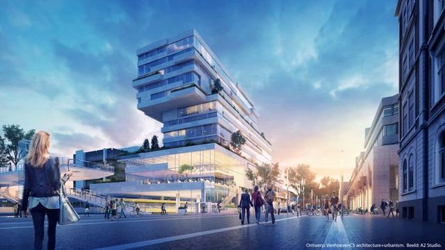 Plannen Noord- en Zuidgebouw stationsgebied afgekeurd