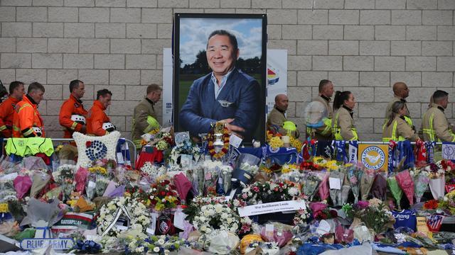 Leicester City gaat standbeeld bouwen voor omgekomen voorzitter