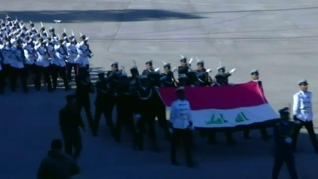 Irak viert overwinning op IS met militaire parade