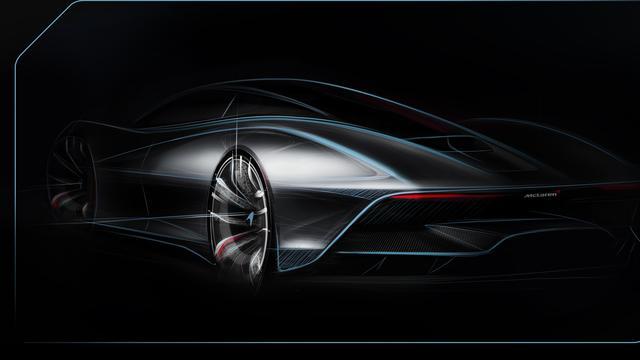 Topsnelheid aanstaande McLaren-sportwagen zal die van F1 overtreffen