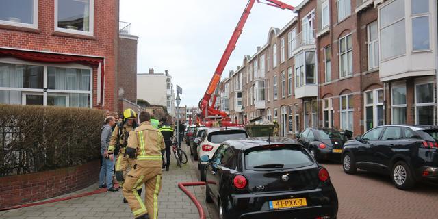 Drie woningen aan Blois van Treslongstraat ontruimd vanwege woningbrand