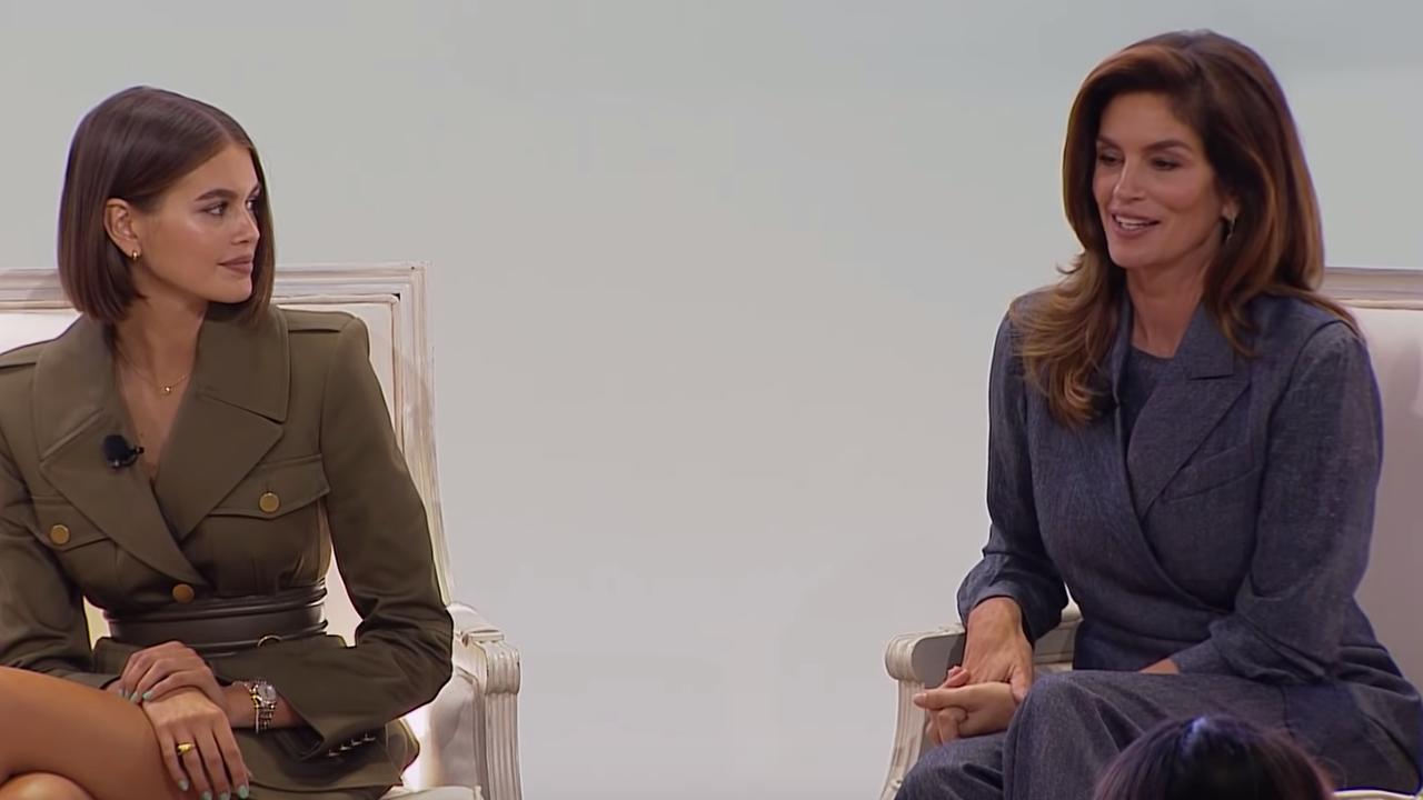 Kaia Gerber en Cindy Crawford over de veranderende mode-industrie