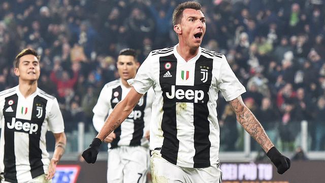 Juventus doet goede zaken in titelstrijd met zege op Internazionale