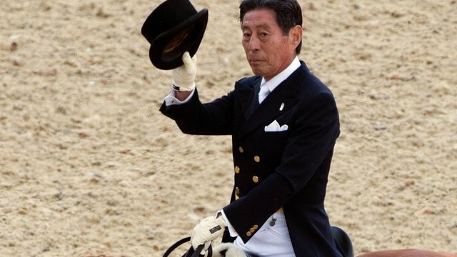 75-jarige Japanner loopt kans mis om oudste olympiër ooit te worden