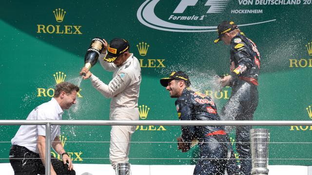 Overzicht: Uitslag Grand Prix Duitsland en WK-stand