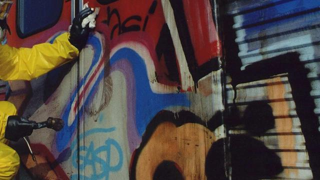 Forse toename van graffiti op Amsterdamse metro's
