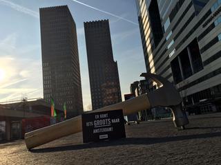 Kantoorkosten liggen in Amsterdam bijna twee keer zo hoog als in Rotterdam