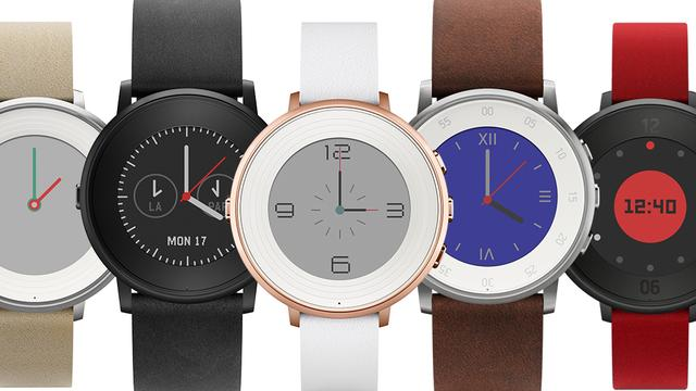 Pebble onthult ronde smartwatch