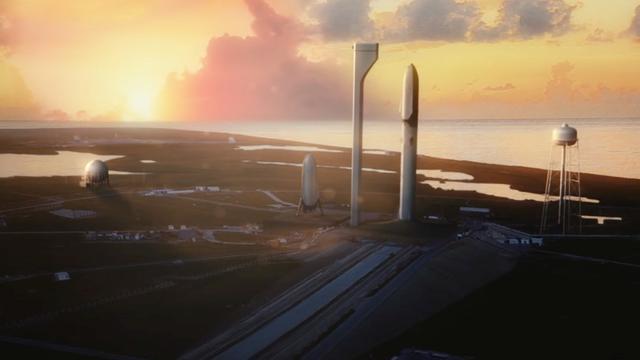 Mars-raket SpaceX begin 2019 klaar voor testvluchten