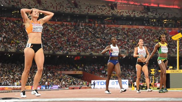 Zege Schippers op 200 meter WK atletiek in Peking