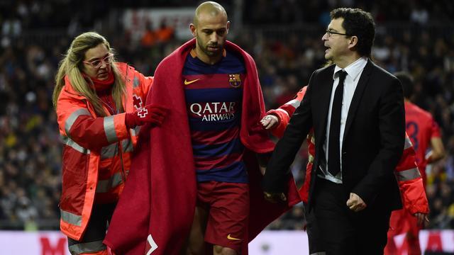 Barcelona zonder Mascherano tegen AS Roma, Real mist Marcelo