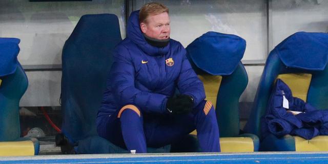 Koeman opgelucht dat aantal positieve tests bij Barcelona beperkt is gebleven