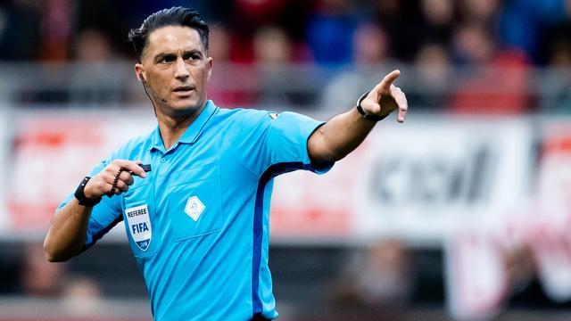 Gözübüyük fluit zondag Eredivisie-kraker tussen AZ en Ajax