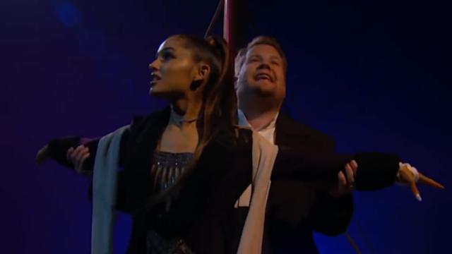 Ariana Grande stopt dertien hits in 'nieuwe soundtrack' Titanic
