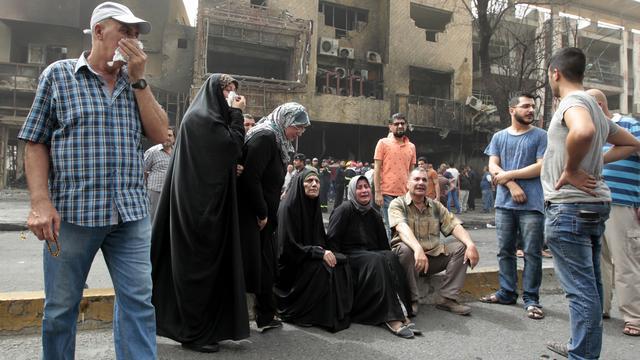 Dodental aanslagen Bagdad loopt op naar minstens 213