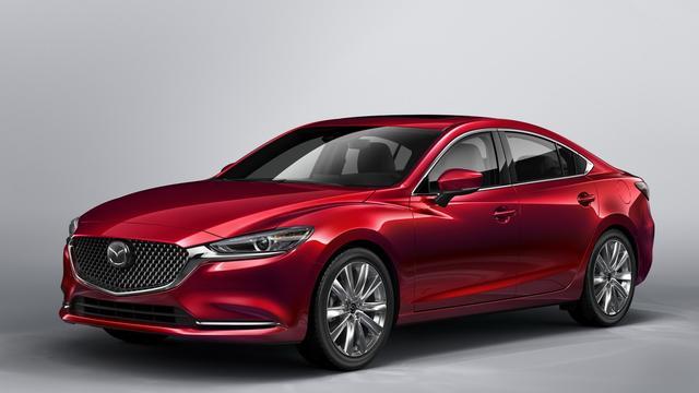 Mazda toont vernieuwde 6