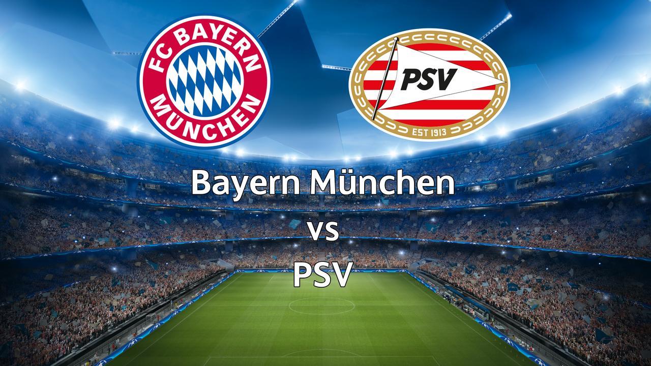 Bekijk hier live de nabeschouwing van Bayern München-PSV