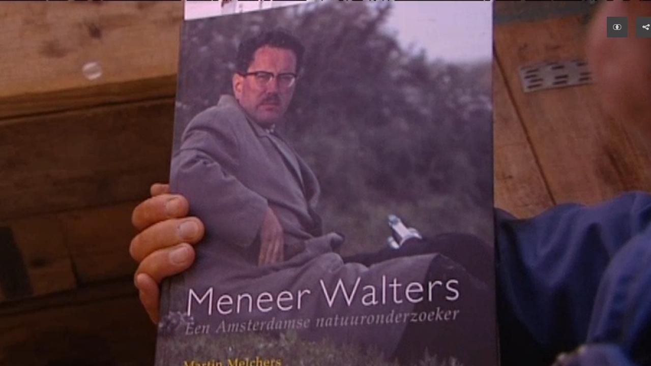 Stadsecoloog schrijft boek over meneer Walters