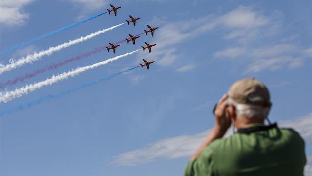 Opnieuw lange files richting Volkel vanwege Luchtmachtdagen