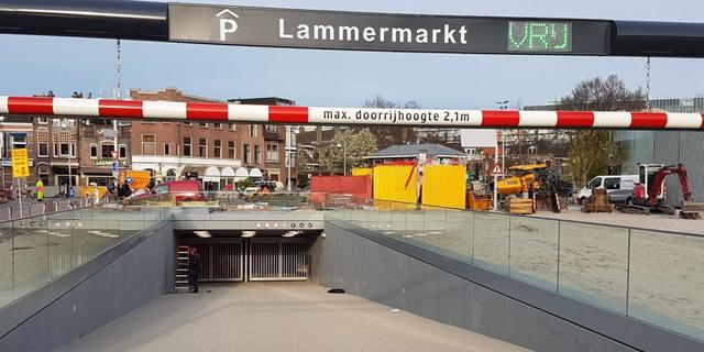 Lammermarktgarage opent met groot festival