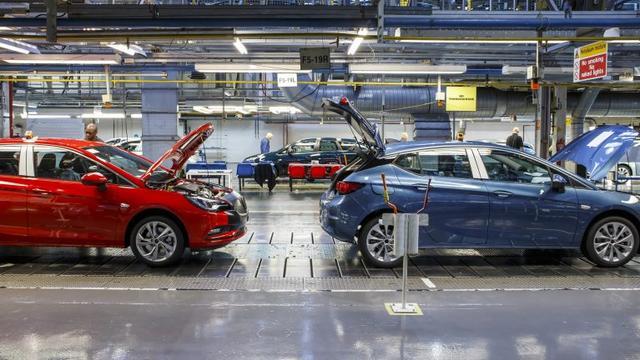 Opel-fabriek in Ellesmere Port dicht bij harde Brexit
