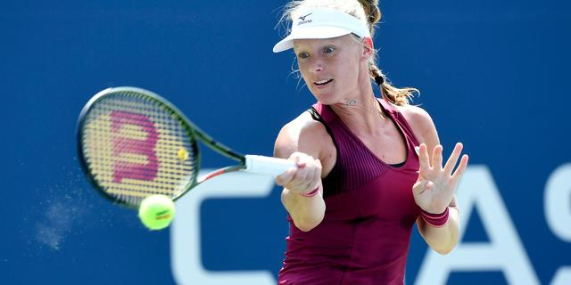 Bertens eenvoudig naar tweede ronde US Open, Rus sneuvelt tegen Cibulková