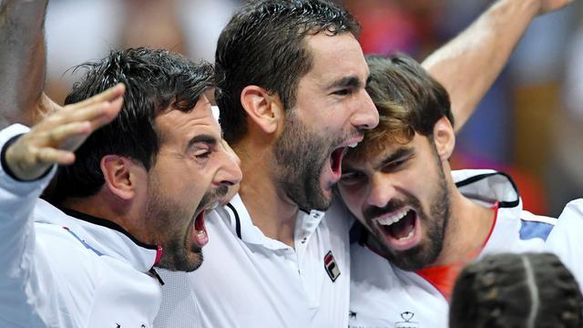 Kroatië en Argentinië bereiken finale van Davis Cup