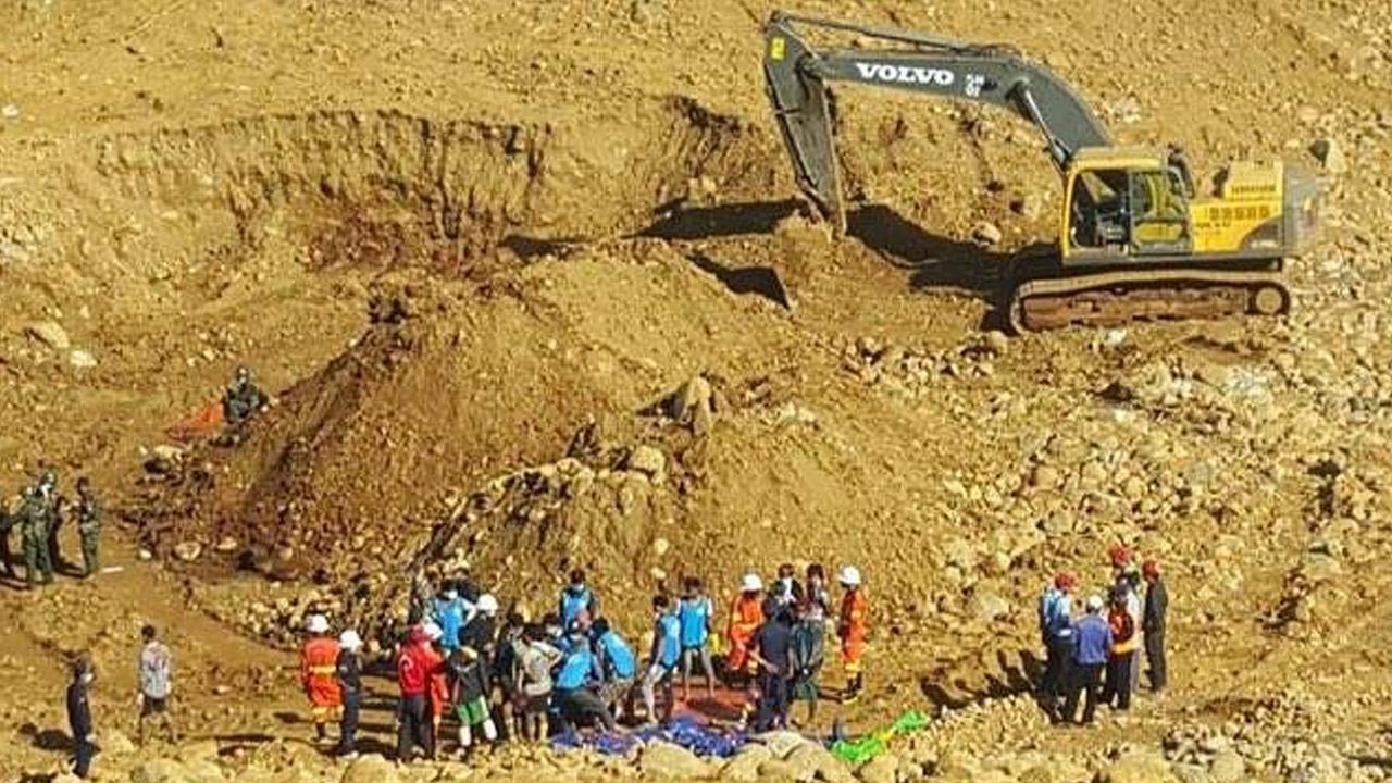 Dodental aardverschuivingen Myanmar loopt op