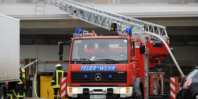 Wooncontainers in vluchtelingenopvang Hamburg uitgebrand