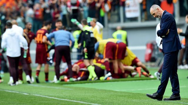 Lazio vervangt trainer na verloren derby tegen AS Roma