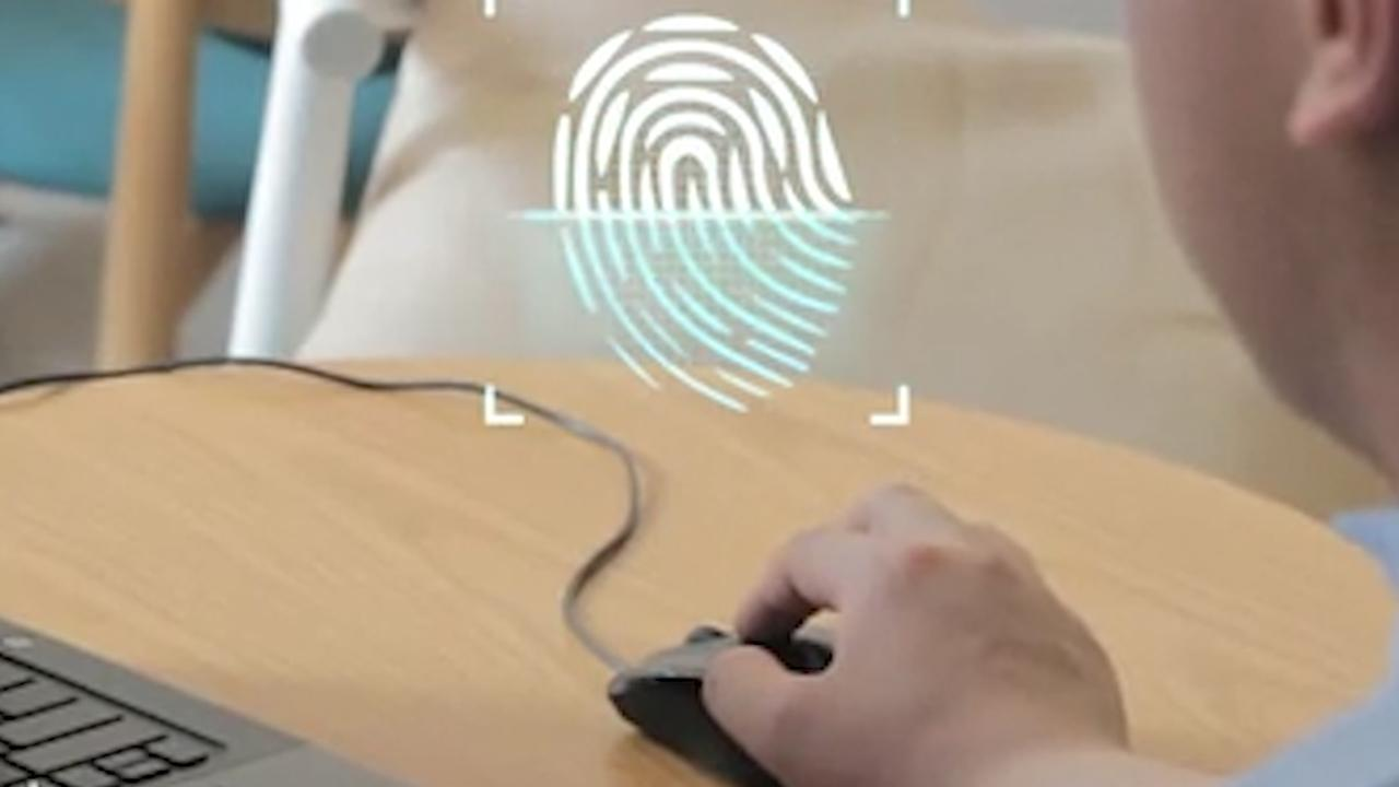 Muis met vingerafdruksensor biedt snelle toegang tot webaccounts