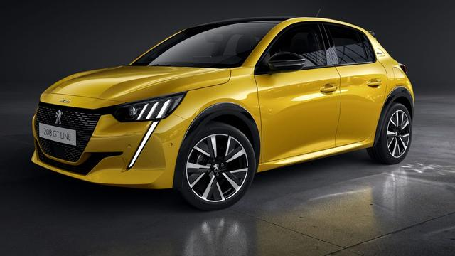 Peugeot maakt prijzen van elektrische Peugeot 208 bekend