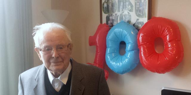 Marien Rijk uit Ovezande wordt 100 jaar