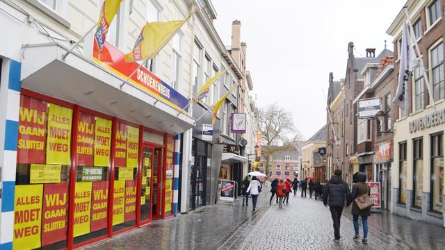 'Banenverlies en leegstand dreigen in Nederlandse detailhandel'