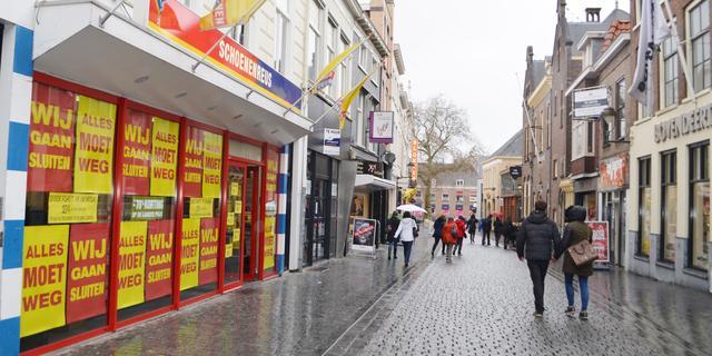 Tweedeling op winkelmarkt tussen grote en kleine steden