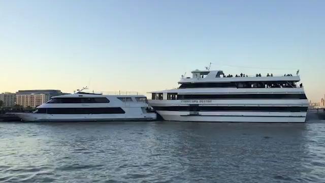 Jacht vol feestvierders botst op ander jacht op Hudson