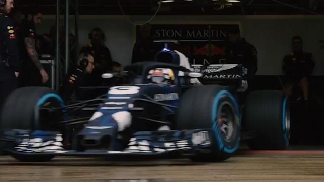 Red Bull presenteert nieuwe auto Verstappen