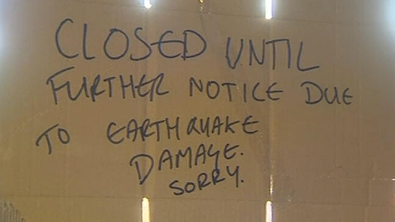 Huizen Nieuw-Zeeland schudden door zware aardbeving