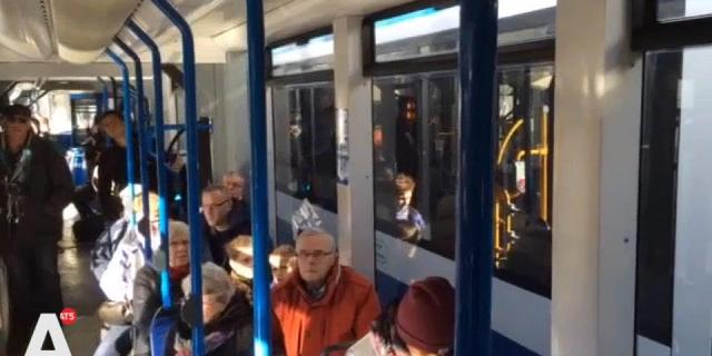 Openbaar vervoer stil vanwege herdenking Februaristaking