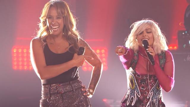 Glennis Grace zingt duet met Bebe Rexha in laatste optreden voor uitslag AGT