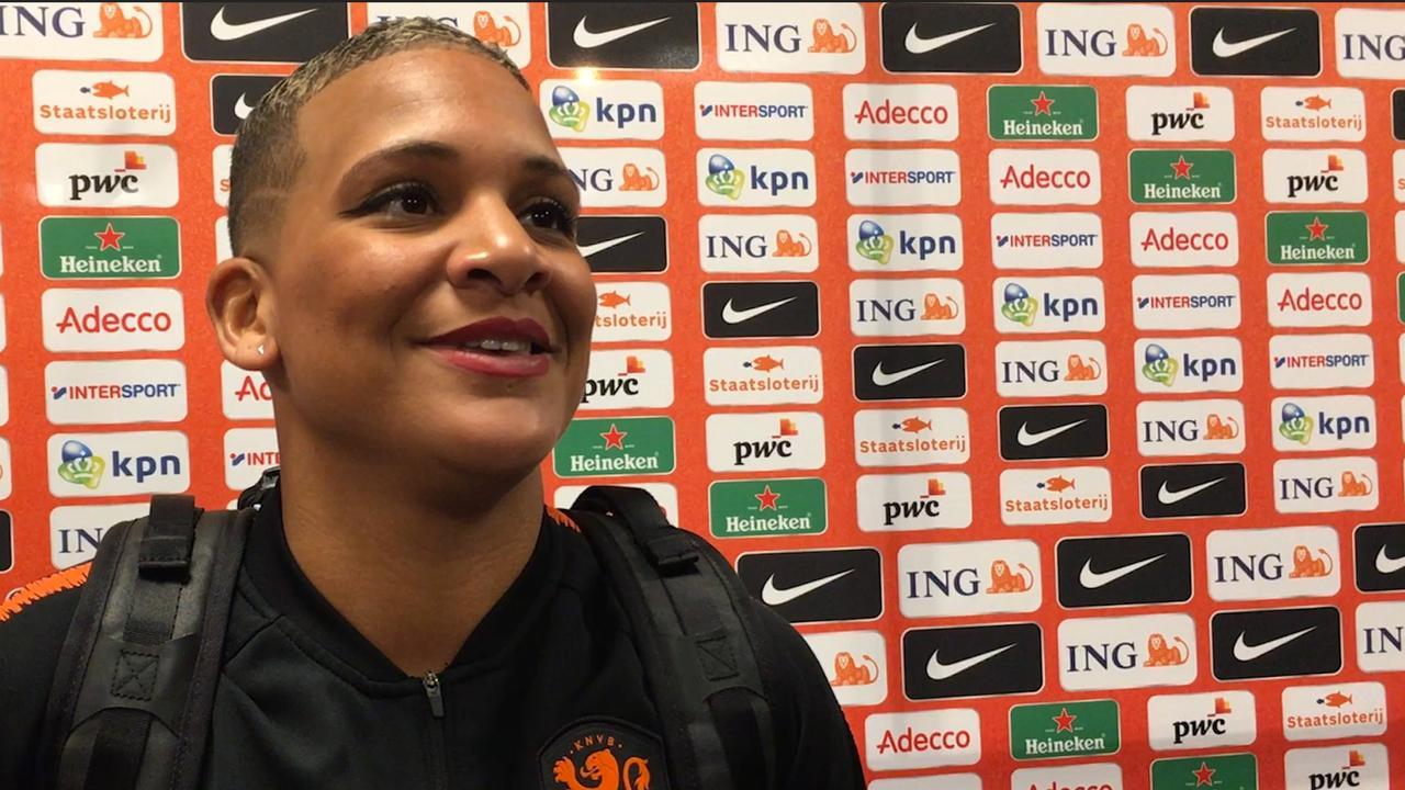 Van de Sanden: 'We blijven met beide voeten op de grond bij Oranje'