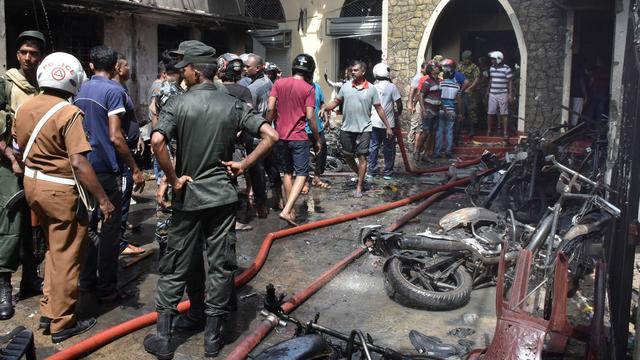 Aanhoudingen verricht in Sri Lanka na zware aanslagen