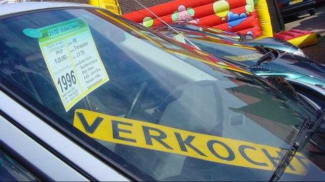 'Nederlands wagenpark vergrijst langzaam maar zeker'