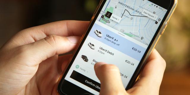 Uber en FNV ruziën bij rechtbank over rechten van chauffeurs
