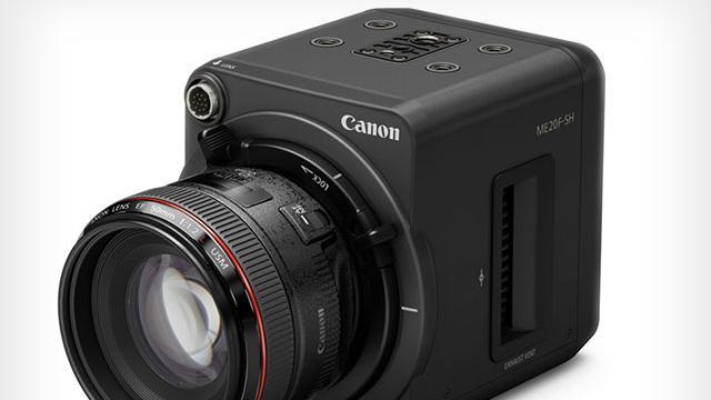 Canon kondigt zeer lichtgevoelige camera met 4 miljoen iso aan