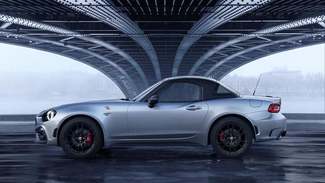 Fiat en Abarth presenteren nieuwe 124 Spider-versies