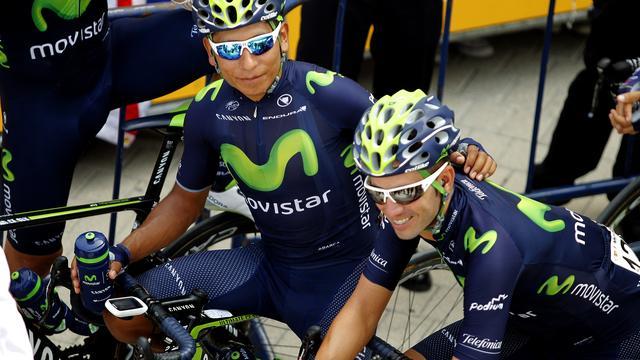 Quintana en Valverde bang voor vermoeidheid in bergritten Vuelta