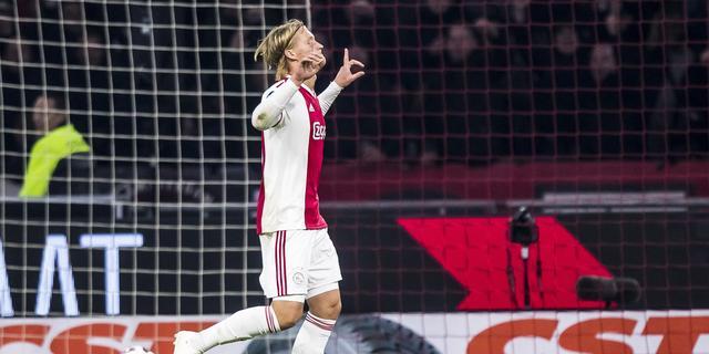 Ajacied Dolberg fit genoeg om te kunnen spelen tegen Benfica