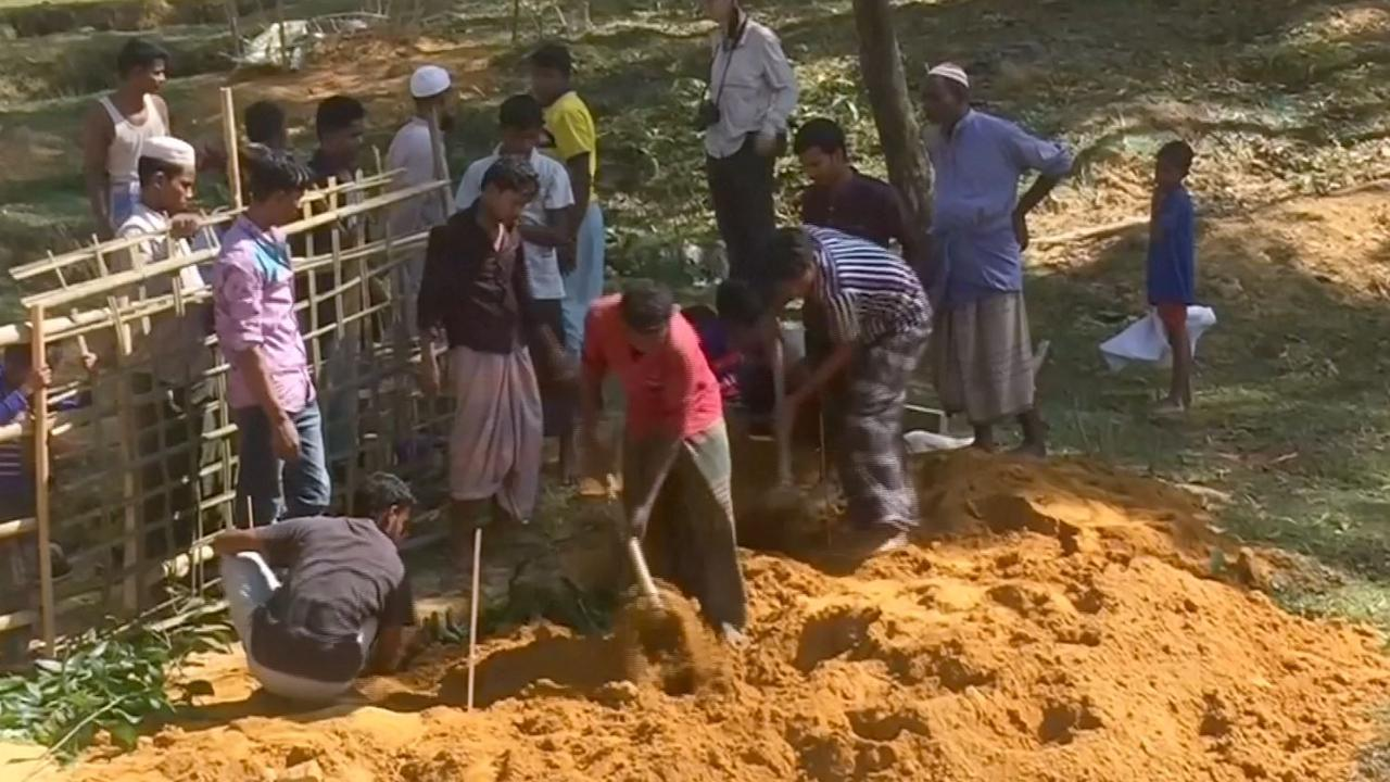 Rohingya delven voortijdig kindergraven in vluchtelingenkampen