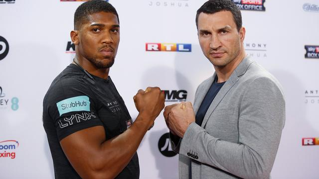 Klitschko trots dat hij en Joshua normaal doen in aanloop naar gevecht